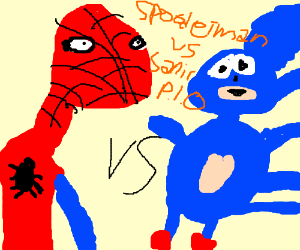 spooderman vs sanic pio