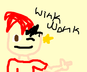 Markipliar seductively winks