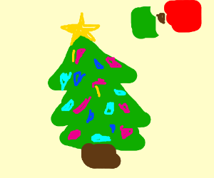 Mexican christmas tree