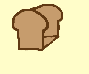 A loaf of bread.