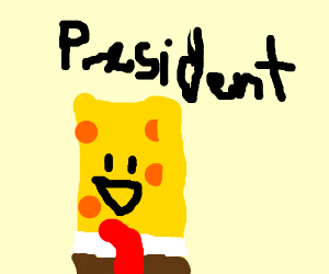 Spongebob for president