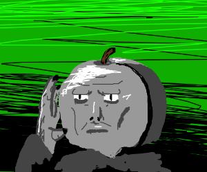 Plum face Voldemort