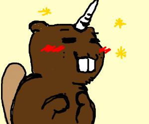 Image result for unicorn beaver