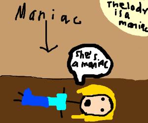 She S A Maniac Maniac On The Floor