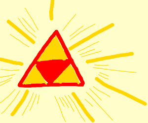red/yellow triforce(almost)