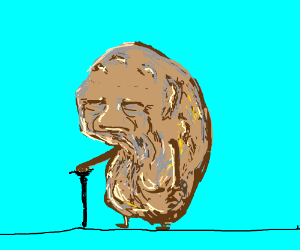 old potato