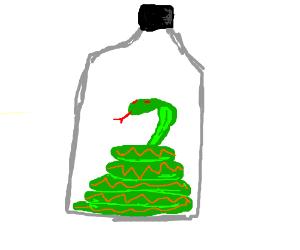 Snake in a bottle
