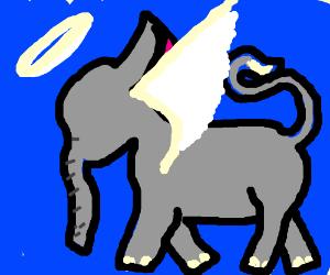 angelic elephant