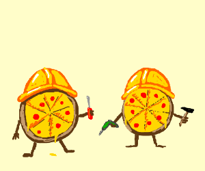 pizza workers