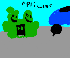 Green Alien Amalgamate wants to buy a Prius.
