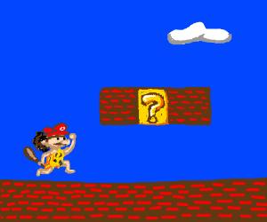 Caveman Mario game