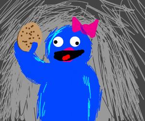 Queen Cookie Monster