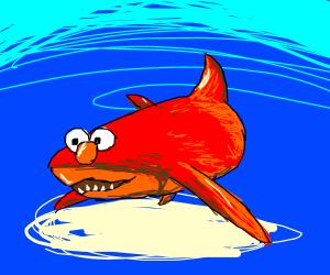 Shark Elmo