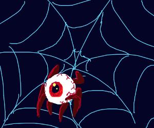 Eyeball And Spiderweb