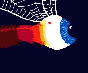 flying eyeball demon