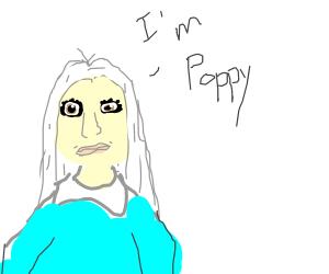 White Hair Girl says: I'm Poppy