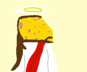 Our Lord and Savior Cheesus Crust