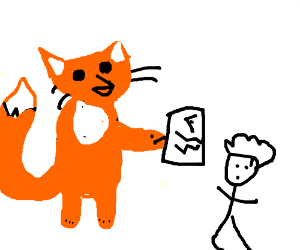a fox teacher give his student an f happily