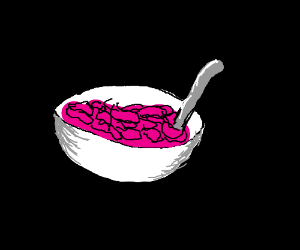 A bowl of cereal