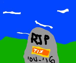 RIP Tix in Roblox :(((((( - Drawception