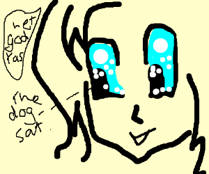 dyslexic anime character