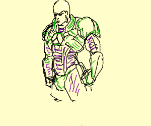 Lex Luthor in his power suit