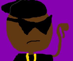 black gangsta dude is not impressed