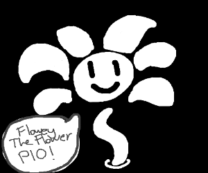 Flowy the flower PIO