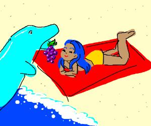 Flipper and Lopaka - Drawception