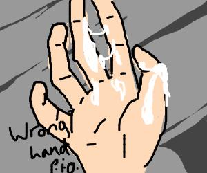 WRONG HAND PIO
