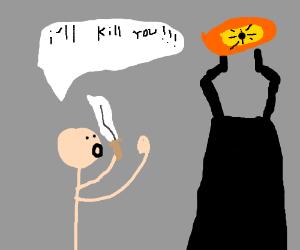 guy wants to kill Soron