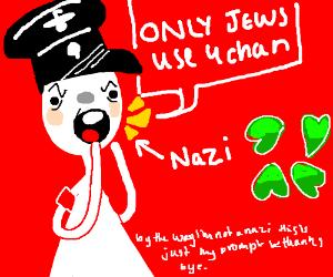 nazi hates 4chan
