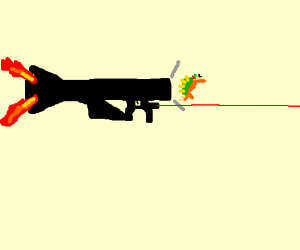 A gun that shoots Bowsers.