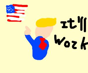 trump has faith in america