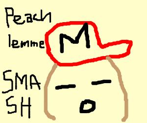 Severely brain damaged Mario