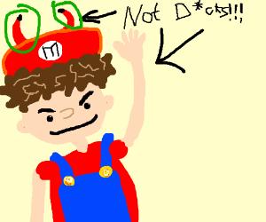 Mario the demon