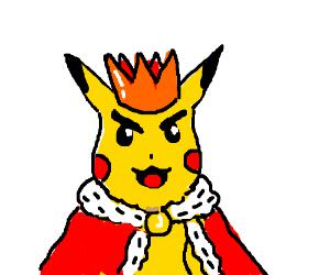 Evil Pikachu is king