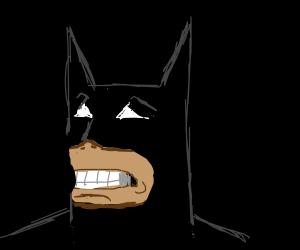 Batman looks worried