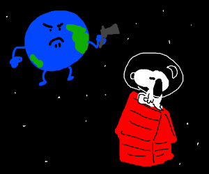 Snoopy vs the world