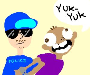 man gets arrested for telling a bad joke