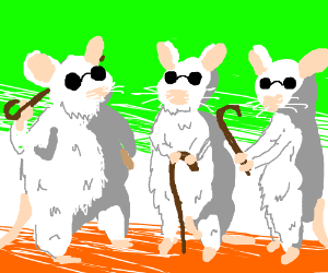 Three blind mice(Shrek)
