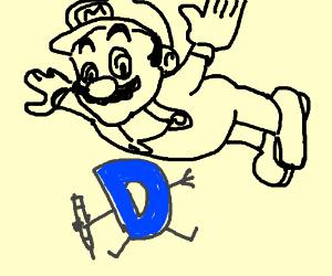 Mario goes on Drawception!