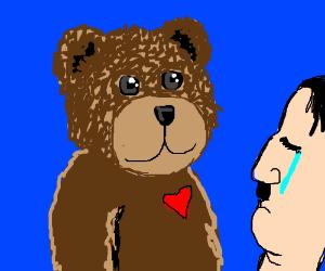 Teddy bear loves even Hitler