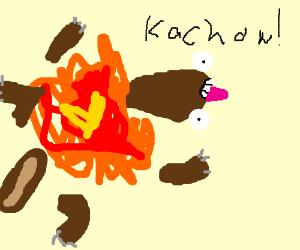 Exploding squirrels