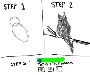 How to make it top: Step1: Draw something good