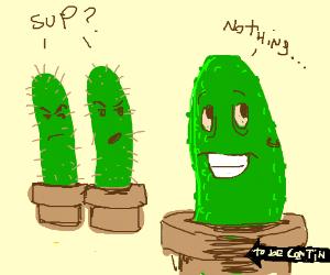 pickle X cactus fan fiction