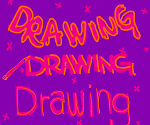 "The words ""drawing""?"