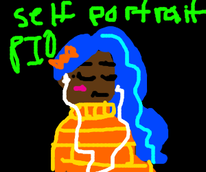Self Portrait P.I.O. (Just Look at my Avatar)
