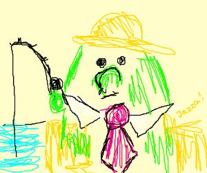 Ehhhhh harpy derby fishing man