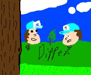 Dipper 1 and dipper clone 1